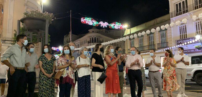 Luces de feriado en Melilla