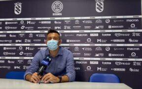 Manolo Herrero en rueda de prensa
