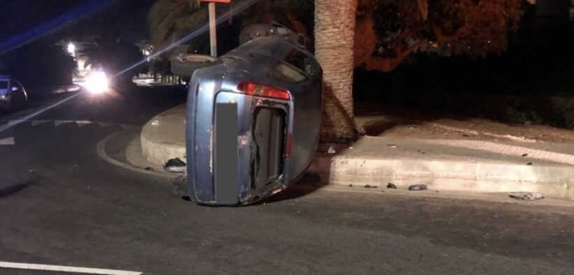 Accidente en Melilla